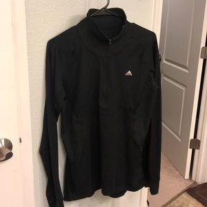 Adidas 3/4 zip shirt